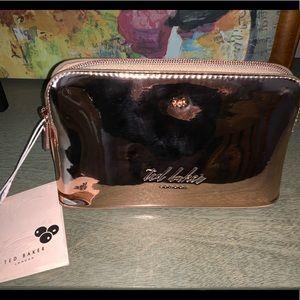 Ted Baker rose gold make up bag